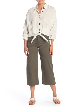 Wide Leg Chino Pants by Blu Pepper