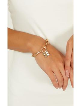 Vision Of You Bracelet In Gold by Showpo Fashion