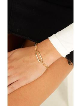 What Do You Know Bracelet In Gold by Showpo Fashion