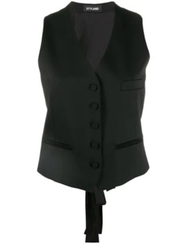 Slim Fit Waistcoat by Styland