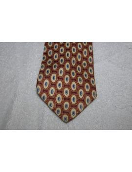 Vintage Moschino Silk Tie by Etsy