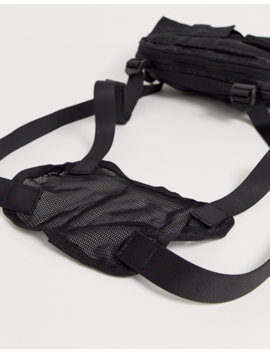 Bershka Chest Bag In Black by Bershka's