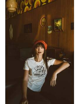 Organic Cotton 1977 American Tour | Ladies Tee By Salt & Sol | Handmade Sustainable Women's Apparel by Etsy