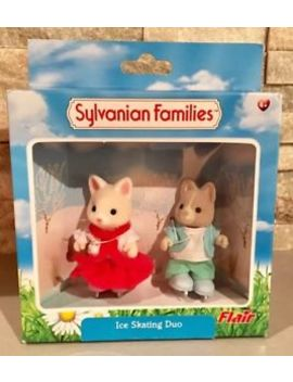 Sylvanian Families Ice Skating Duo Set Bnib Rare Discontinued Figures Characters by Ebay Seller