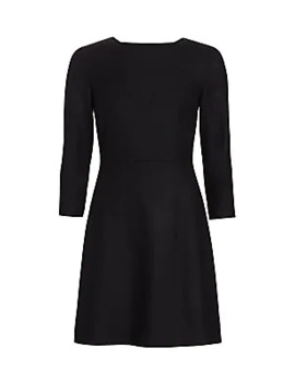 Kamillina Virgin Wool Shift Dress by Theory