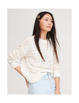 Sweter O Luźnym Splocie by Reserved
