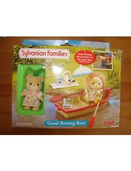 Sylvanian Families Canal Rowing Boat   Boxed And Rare & Accessories by Ebay Seller