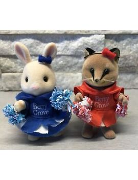 Sylvanian Families School Sports Day Cheerleaders Berry Grove Fox Rabbit Rare by Ebay Seller
