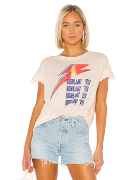 Bowie 73 Tee In Bare by Junk Food