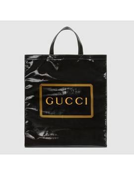 Medium Gucci Print Tote by Gucci