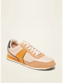 Retro Color Blocked Sneakers For Women by Old Navy