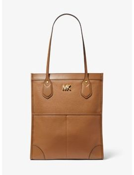 Bay Large Pebbled Leather Tote Bag by Michael Michael Kors