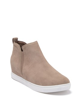 Georgette Waterproof Suede Wedge Sneaker by Blondo