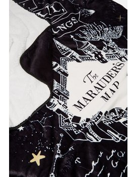 Harry Potter Printed Throw by Cotton On