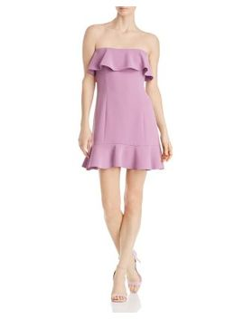 Elaina Strapless Mini Dress by Rachel Zoe