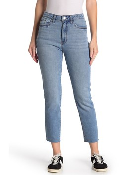 Cropped Straight Leg Jeans by Tinsel