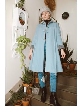 Blue Rose Coat by Etsy
