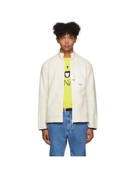 Off White Polar Tech Jacket by Kenzo