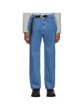 Blue Regular Jeans by Kenzo