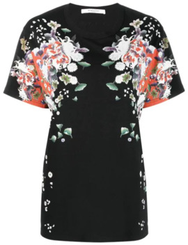 Floral Print T Shirt by Givenchy