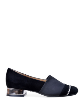 Gobi Stretch Suede Loafers by Bettye Muller Concept