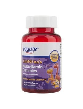 Equate Children's Multivitamin Gummies Dietary Supplement, 70 Ct by Equate
