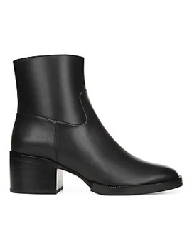 Ginevra Leather Ankle Boots by Via Spiga