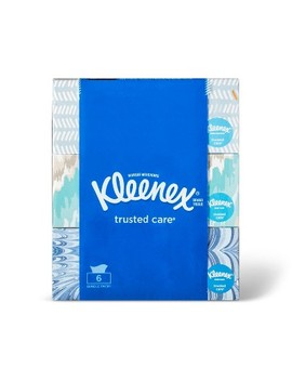 Kleenex Trusted Care Facial Tissue   6pk/144ct by 6pk/144ct