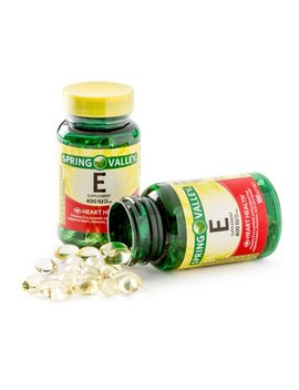 Spring Valley Vitamin E Supplement, 400 Iu, 200 Softgel Capsule Twin Pack by Spring Valley