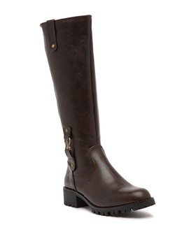Betty Waterproof Faux Fur Lined Knee High Boot by Aquatherm By Santana Canada