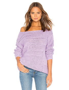 Vail Sweater In Lavender by Lovers + Friends