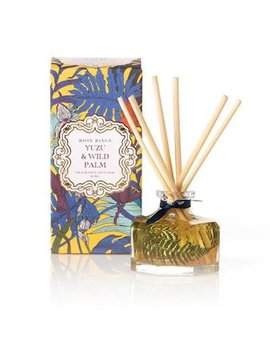 Yuzu And Wild Palm Rosy Rings Petite Botanical Reed Diffuser by Rosy Rings