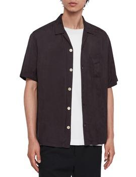 Florette Regular Fit Camp Shirt by Allsaints