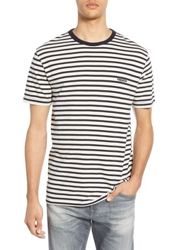 Breton Stripe Ringer Neck T Shirt by French Connection