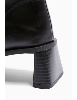 Venice Vegan Black Boots by Topshop