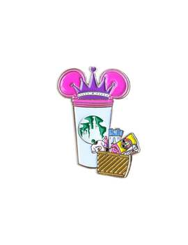 Disney Fashion Castle Cup Pin ( Disney Fashionista ) by Etsy
