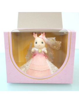 Sylvanian Families Chocolate Rabbit Lovely Dress Fan Club Calico Critters by Ebay Seller