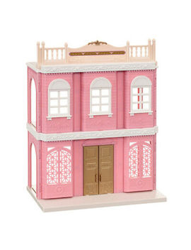 Sylvanian Families Delicious Restaurant Pink Building Town Series Fan Club by Ebay Seller