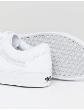 Vans Old Skool Sneakers In White Vd3hw00 by Vans'