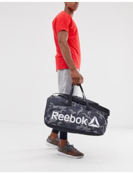Reebok Training Medium Holdall In Camo by Reebok's