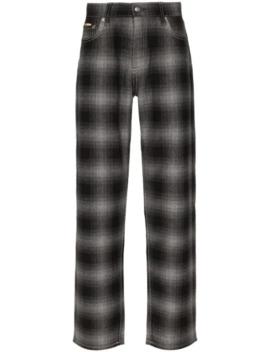 Benz Skotskrutiga Jeans by Eytys