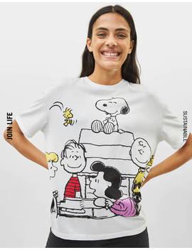 Oversized Snoopy Tshirt   T Shirts   Bershka United Arab Emirates by Bershka