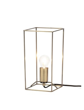 Nixon Wire Table Lamp (W16cm X H30cm) by Matalan