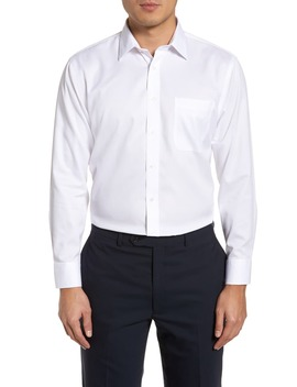 Smartcare™ Trim Fit Dress Shirt by Nordstrom Men's Shop