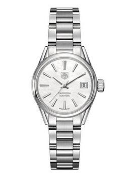 Women's Swiss Automatic Carrera Lady Stainless Steel Bracelet Watch 28mm by General