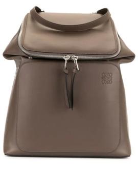 Logo Embossed Backpack by Loewe
