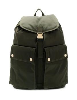 Olive Nylon Porter Back Pack by Porter