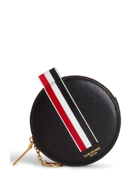 Round Leather Coin Purse by Thom Browne