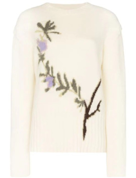 Romarin Floral Intarsia Jumper by Jacquemus