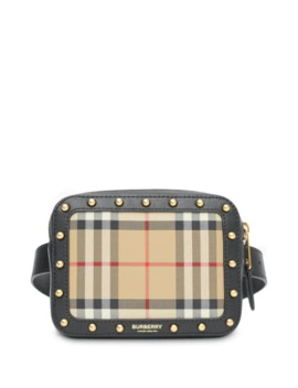 Signature Check Belt Bag by Burberry Kids